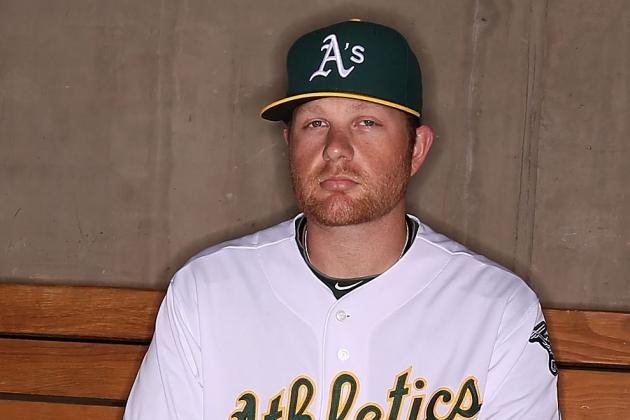 A's Anderson (Ankle) to Be Re-Evaluated Sunday