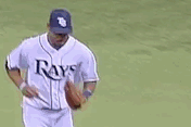 GIF: Rays' Jennings Turns Rare Unassisted DP