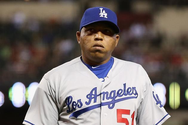 Ronald Belisario Struggles as Dodgers Drop Fifth Consecutive Game