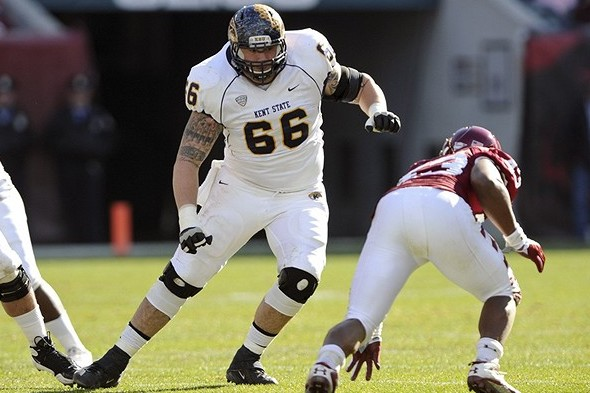 Brian Winters Scouting Report: NFL Outlook for Kent St. OG