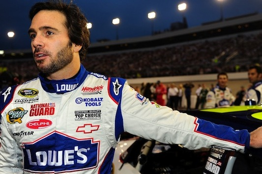 Did Jimmie Johnson Inform NASCAR of Issue with Penske Cars?