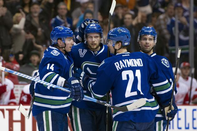 Canucks Clinch Postseason Berth, Beat Red Wings in Shootout