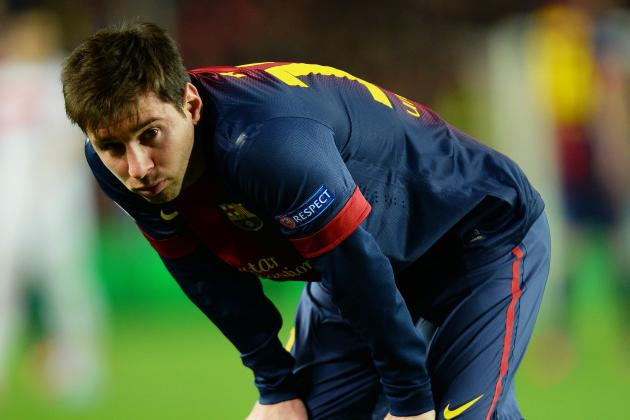Barcelona's Lionel Messi Set for Champions League Return Against Bayern Munich