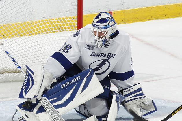 Anders Lindback Ready to Play for Lightning