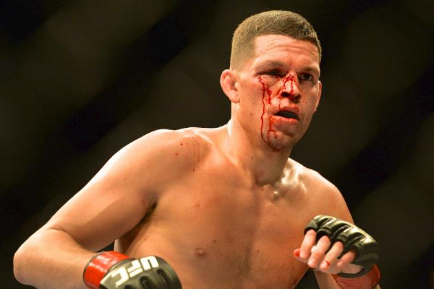 Dana White Says Return to Welterweight for Nate Diaz Would Be 'Big Mistake'