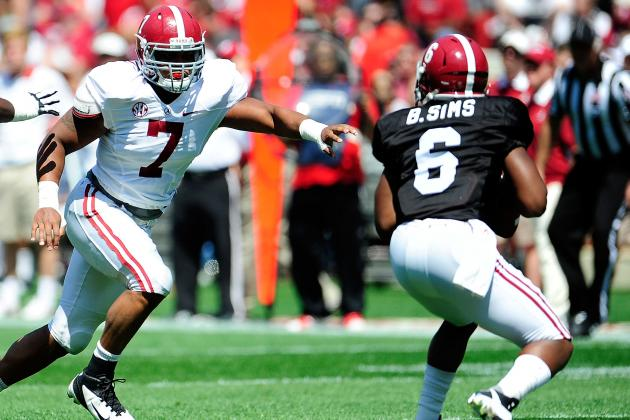 In Pass-or-Fail Test, Alabama's Backup Quarterbacks Flail