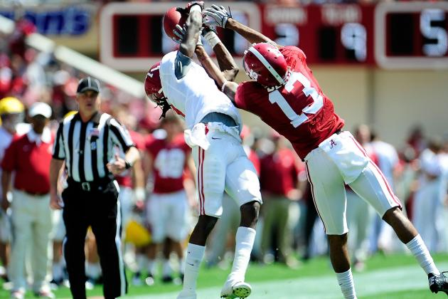 Alabama Announces Spring Football Award Winners