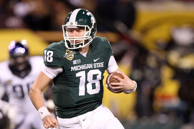 Graham Couch: Connor Cook Wins the Day, as MSU's QB Race Comes into Focus