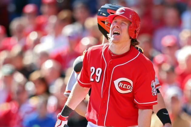 Reds Catcher Ryan Hanigan Goes on Disabled List