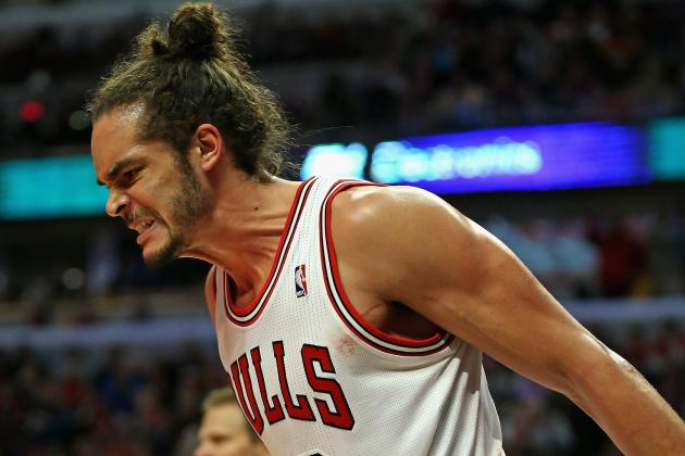 Bulls' Noah Says Foot 'Fine,' Will Play in Game 2