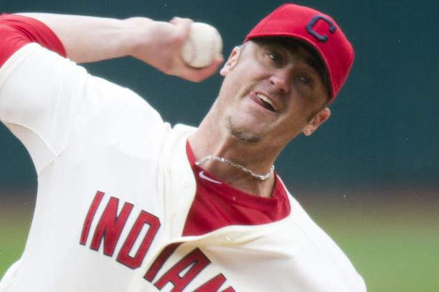 Indians Place Brett Myers on Disabled List