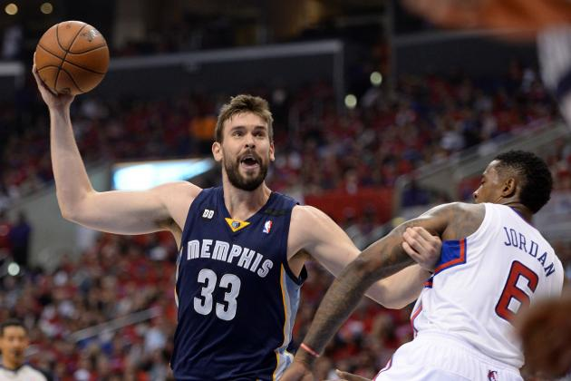 Memphis Grizzlies' Marc Gasol Is the Most Underappreciated Star in NBA Playoffs