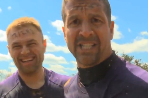 Video: John Harbaugh Is One Tough Mudder