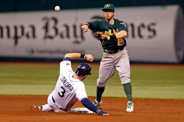 ESPN Gamecast: Athletics vs. Rays
