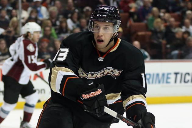 Nick Bonino Returns After 21 Game Absence; Teemu Selanne Back