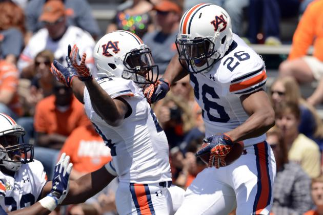 Jonathon Mincy's Ejection Leads Mixed Bag of Plays for Auburn Secondary at a-Day
