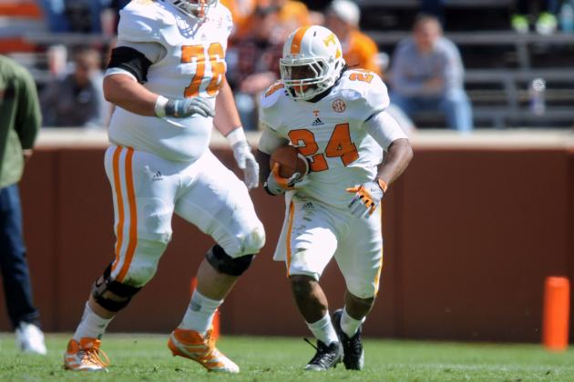 Videos from the Vols' 2013 Orange and White game