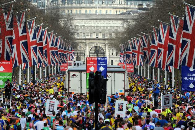 London Marathon Holds Moment of Silence for Boston Prior to Race