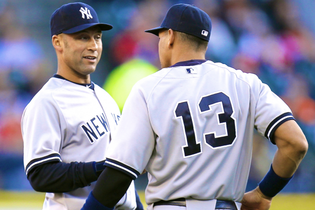 Will We Ever See Derek Jeter/Alex Rodriguez Left Side of Yankees Infield Again?