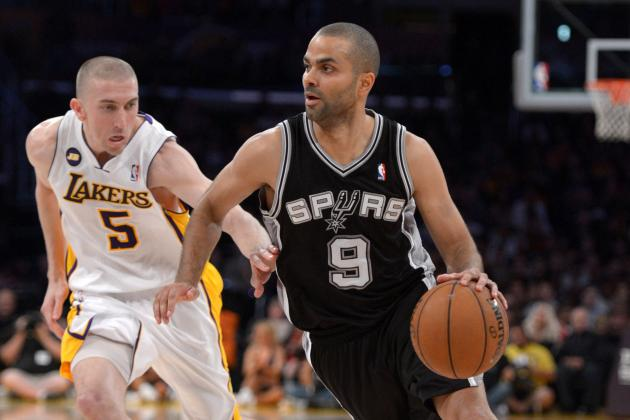 NBA Gamecast: Lakers vs. Spurs