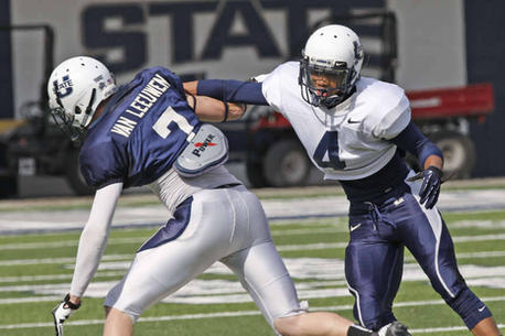 USU's Defense Shines as Aggies Wrap Up Spring Ball with Blue and White Game