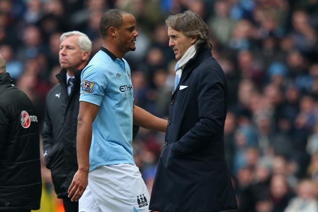 Roberto Mancini Rounds on Manchester City Players After Spurs Defeat