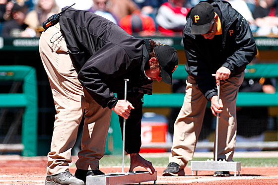 Pirates-Braves Had a Four-Minute Chalk Delay