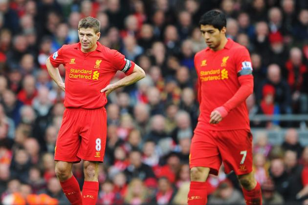 Liverpool Captain Steven Gerrard Wont Comment on Luis Suarez Biting Incident