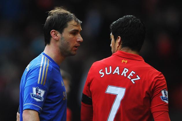Liverpool vs. Chelsea: Is Latest Luis Suarez Controversy Too Close to the Bone?
