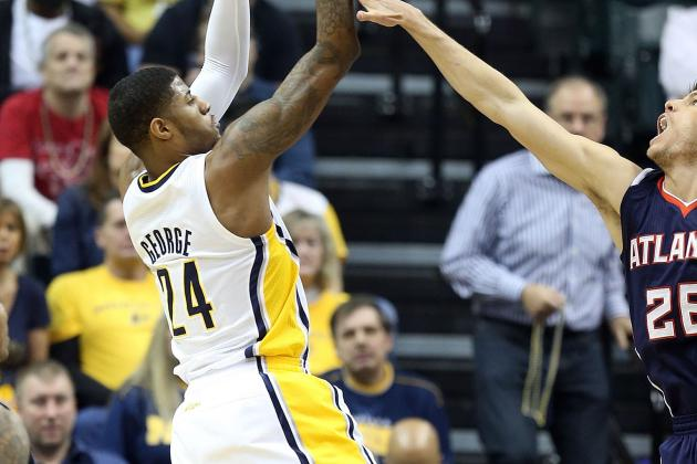 George's Triple-Double Leads Pacers Past Hawks