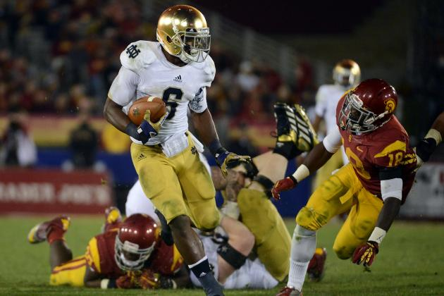 Theo Riddick Scouting Report: NFL Outlook for Notre Dame RB