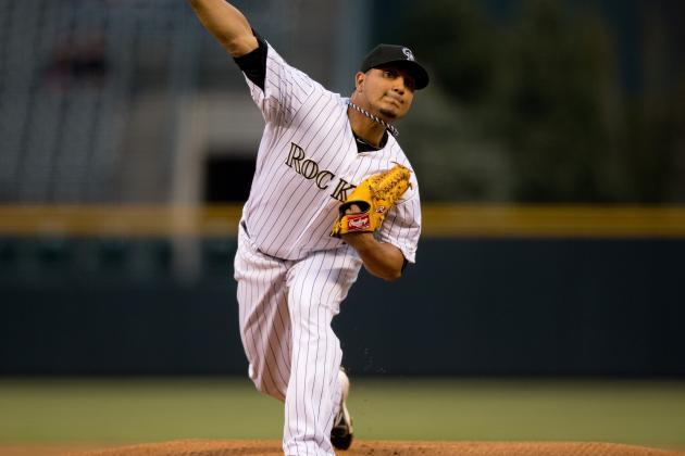 Jhoulys Chacin Placed on 15-Day DL with Lower Back Strain