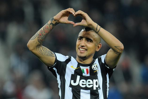 Arturo Vidal Continues to Show His Importance to Juventus