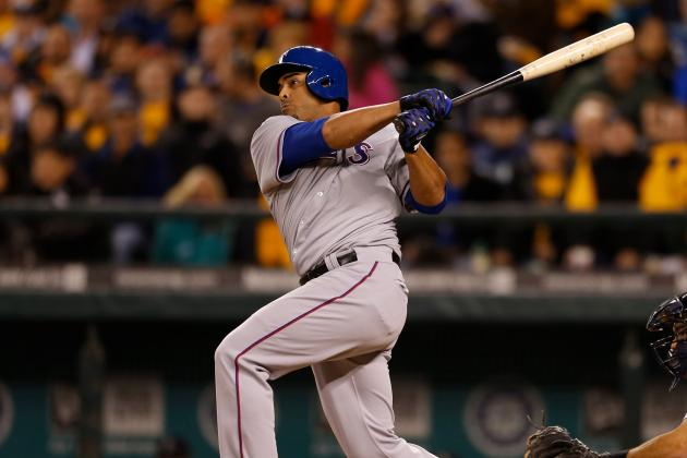 Rangers Ride Cruz's Slam to Sweep of Mariners