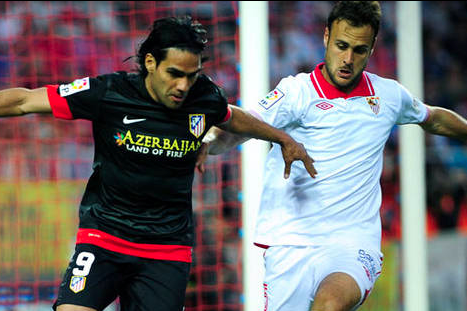 Falcao Gives Atletico Madrid Victory