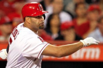 Pujols: Injured Left Foot Is 'Hurting Real Bad'