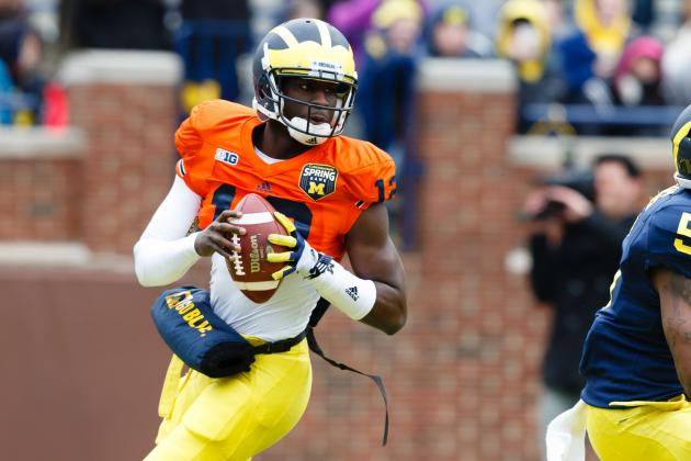 Michigan Football: Will 2013 Be QB Devin Gardner's Final Year with Wolverines?