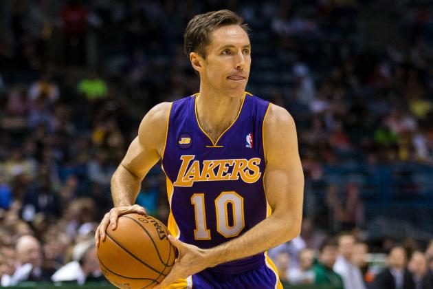 Steve Nash Says He's 'Not Himself' in Lakers' Game 1 Loss