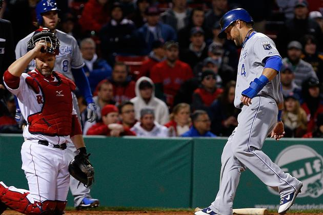 Royals Sweep Doubleheader from Red Sox