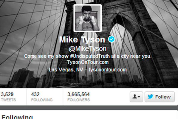 Mike Tyson Starts Following Luis Suarez on Twitter After He Bites Opponent