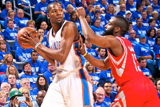 Thunder vs. Rockets Game 1: Live Score, Highlights and Analysis