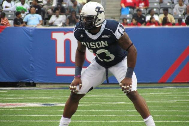 Keith Pough Scouting Report: NFL Outlook for Howard OLB