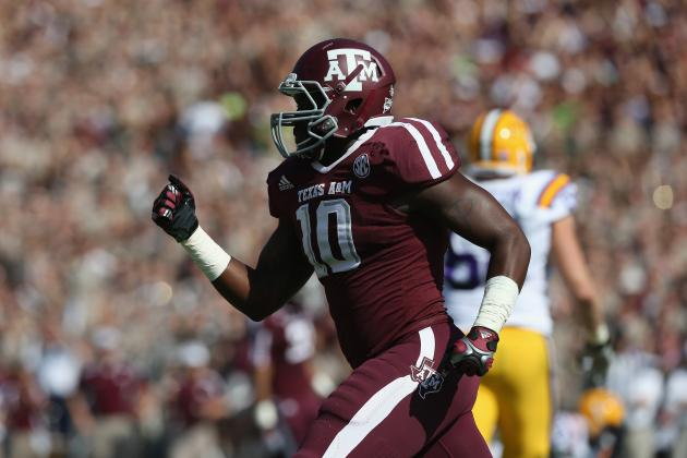 Sean Porter Scouting Report: NFL Outlook for Texas A&M OLB