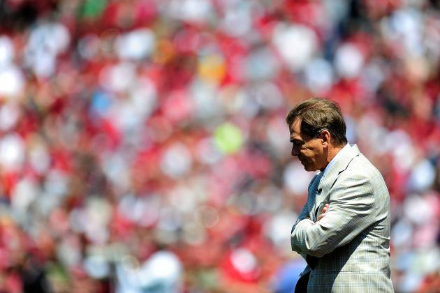 Alabama Football: Lackluster Spring Game a Reminder Not to Be Complacent