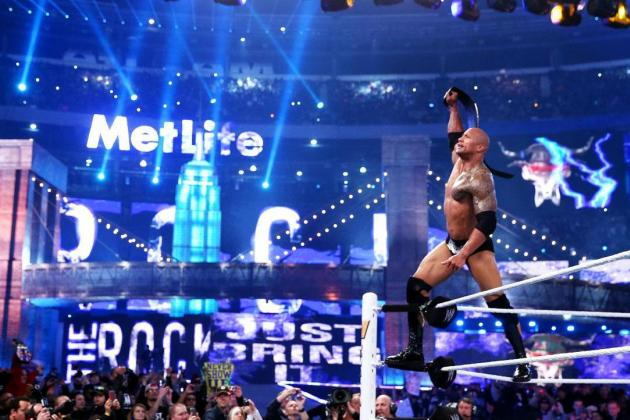 The Rock Says WrestleMania 29 Match with John Cena May Have Been His Last