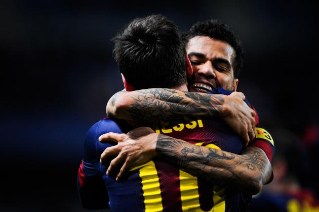 Alves: Messi Is Magical