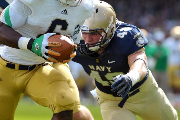 Source: Bears Look at Navy OLB Wetzel