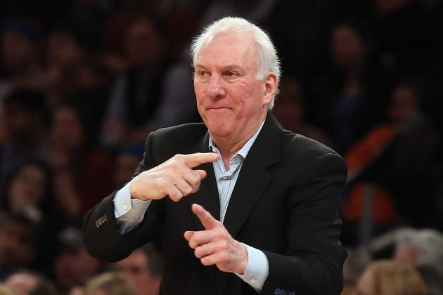 Before Game 1, Gregg Popovich Helped a Reporter with a Crossword Puzzle