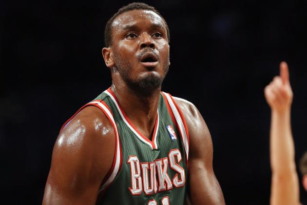 Bucks' Dalembert Says He Might Switch Sides to Play for Heat Next Season