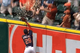 Drew Stubbs' Home Run in Houston Results in Exploding Popcorn [GIF]
